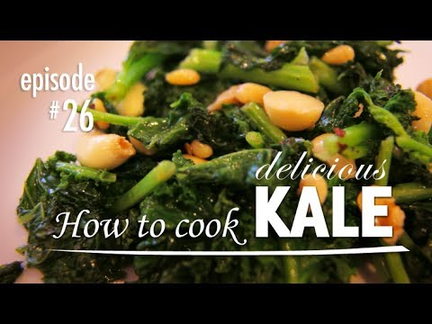 Kale Recipe - How to Cook it, Simple and Easy Recipes with Kale - Video Tutorial