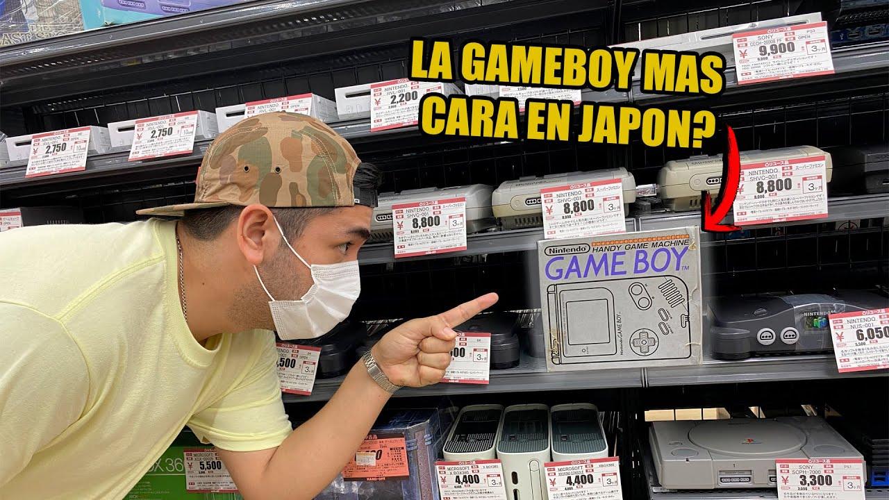 BUSCANDO una GAME BOY en CAJA Y BARATA en JAPON !   videojuegos retro   nintendo