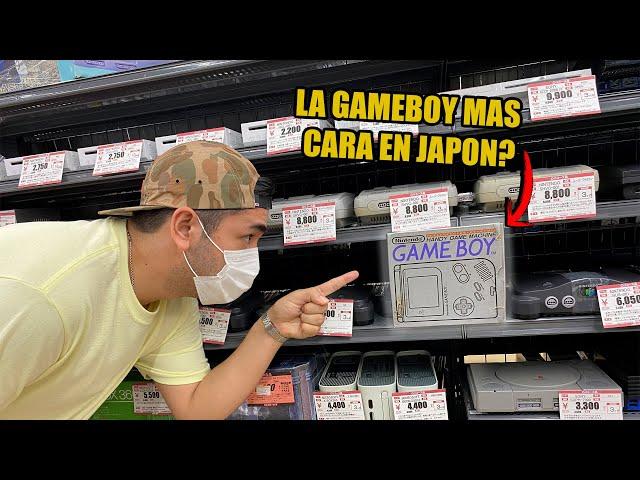 BUSCANDO una GAME BOY en CAJA Y BARATA en JAPON ! | videojuegos retro | nintendo