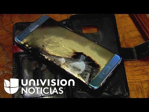 Retiran del mercado los Samsung Galaxy Note 7 por las explosiones de su batería