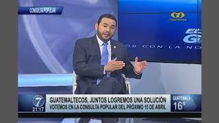Jimmy Morales: 'Guatemala no le vendió Belice a Inglaterra'