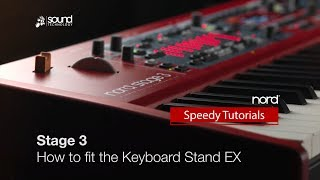 Nord Stage 3: How to fit the Keyboard Stand EX