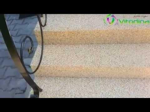 Уникальное покрытие Vitodina (лестница, стол, лавочка). 2014