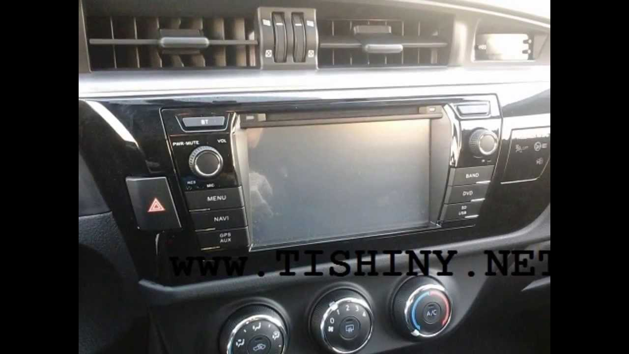 Multimedia Dvd Tv 3g Navigation System Toyota Corolla 2014