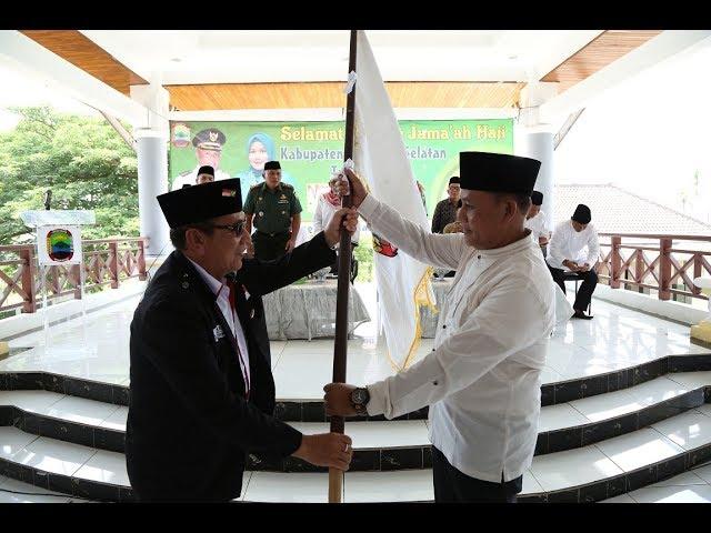 Nanang Sambut Kedatangan Jamaah Haji Lampung Selatan Kloter 32