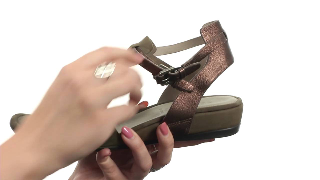 f2fe15726eb7 ECCO Touch 25 Hooded Sandal SKU 8636245 - YouTube