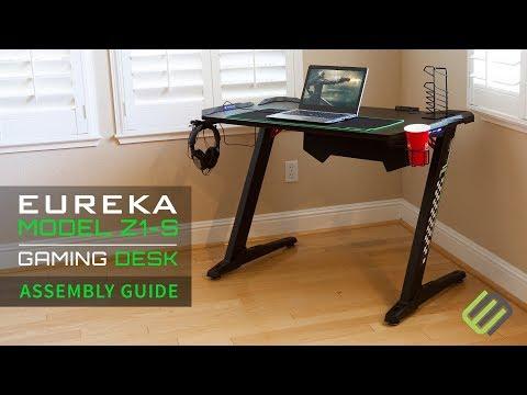 Eureka Z1-S Gaming Desk Assembly Guide