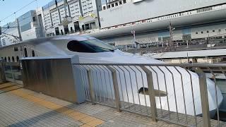 【新幹線】N700系A〜京都駅を東京へ向けて出発〜