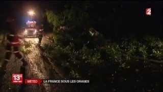 Intempéries: Paris, Bordeaux et Cognac sous les orages