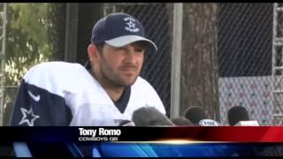 Tony Romo Discusses His Status