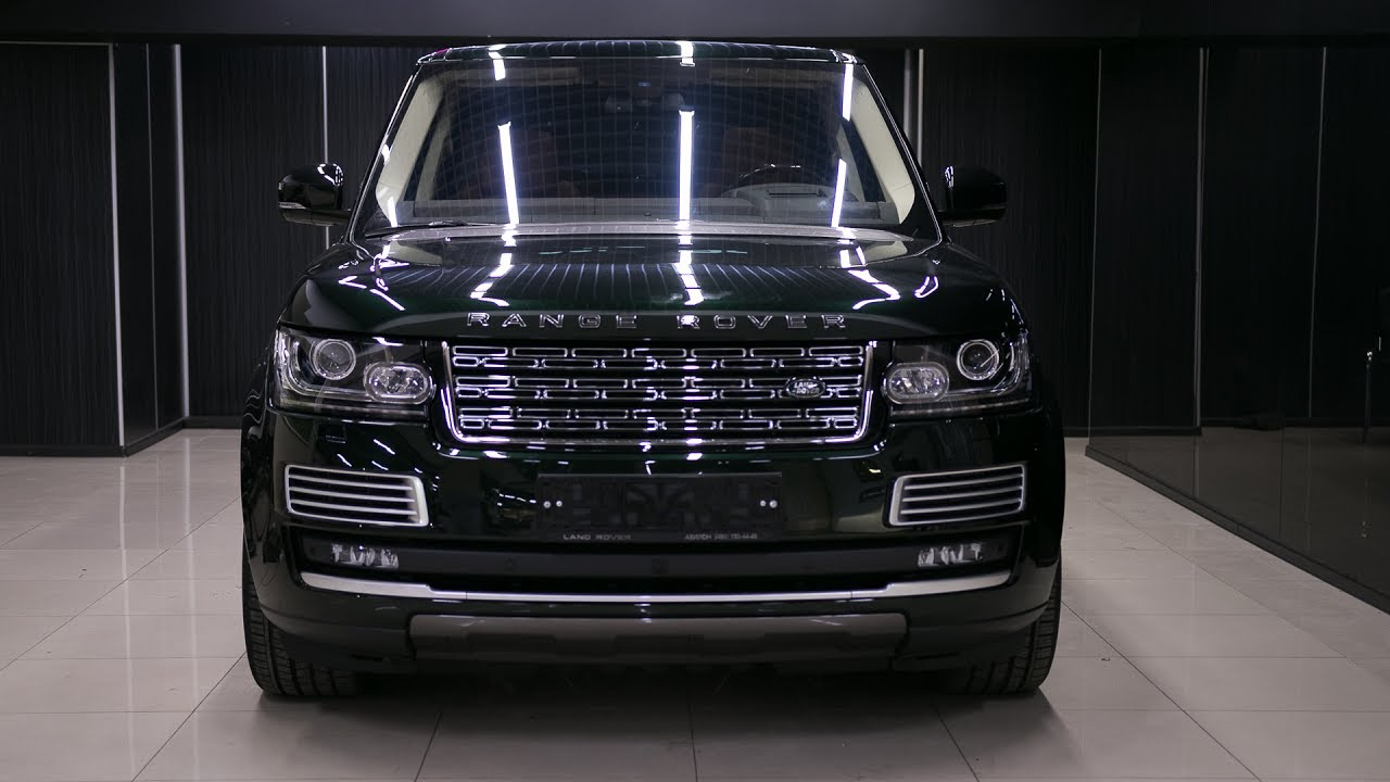 Autosecurity Daily: Range Rover Бронирование стекла ClearPlex