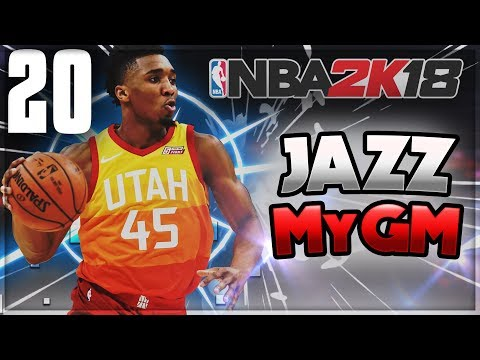 BUZZER BEATER FOR THE WIN!? | NBA 2k18 Jazz MyGM