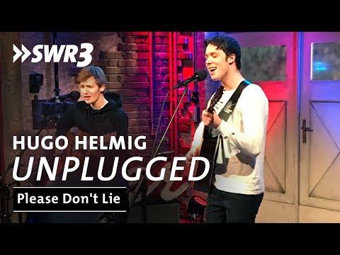 Hugo Helmig - Please Don't Lie | SWR3 Unplugged