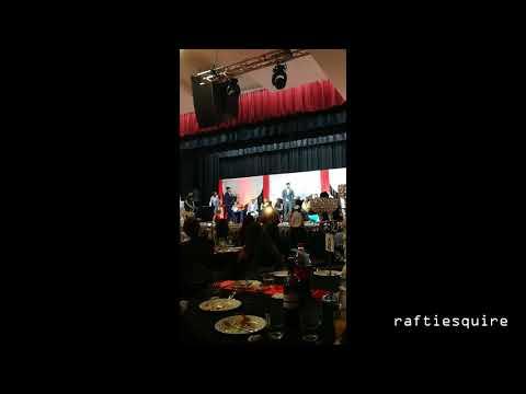 John Abraham Appreciates Live Music - Charity Dinner - Sydney Australia