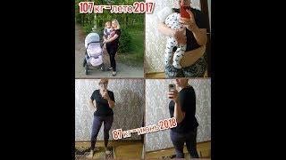 Как я похудела на 20 кг / Дневник похудения / Фото до и после похудения