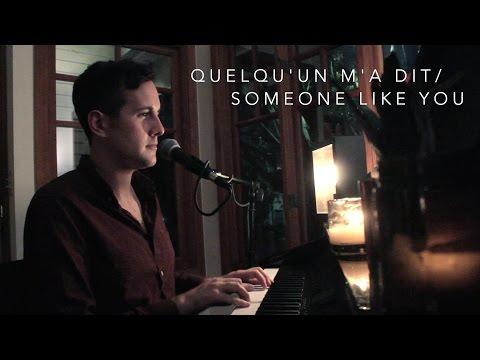 Casey Breves - Quelqu'un M'a Dit / Someone Like You (Carla Bruni/Adele mashup)