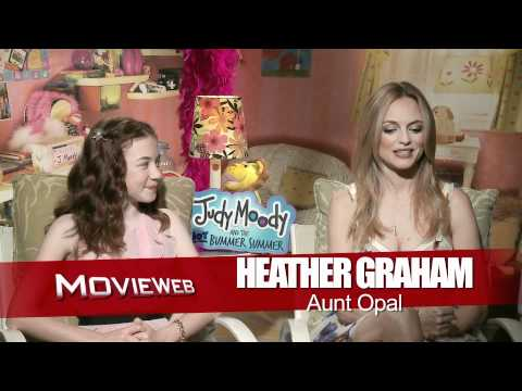 Judy Moody and the Not Bummer Summer  Exclusive: Jordana Beatty and Heather Graham