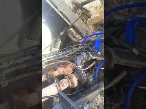 Замена двигателя ямз 650 на Мидр 06.23.56 маз 5440а9
