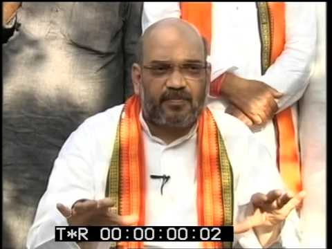 Amit Shah interview to Barkha Dutt - NDTV ( 25 April 2014)