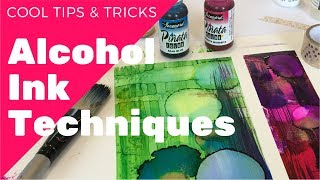 Cool Alcohol Ink Techniques!