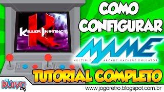 Como configurar o MAME ( M.A.M.E. / Emulador de Arcade para PC ) - TUTORIAL COMPLETO