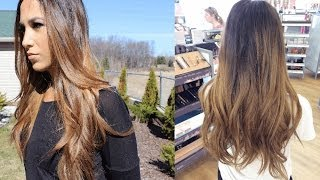 One of Alexandrea Garza's most viewed videos: How to | Balayage Ombre Highlights at home | Alexandrea Garza