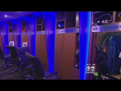 Inside Look Into Cubs New Clubhouse