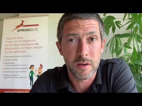 NIEUW: SPRINGBOK ACADEMY – HEALTH COACHING AT WORK