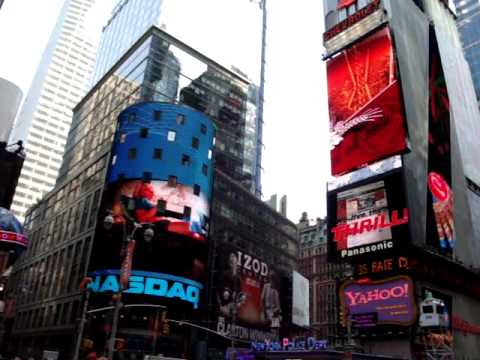 Times Square giant screens