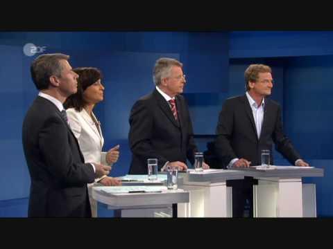 TV-Duell: Angela Merkel - Frank-Walter Steinmeier [1/10]