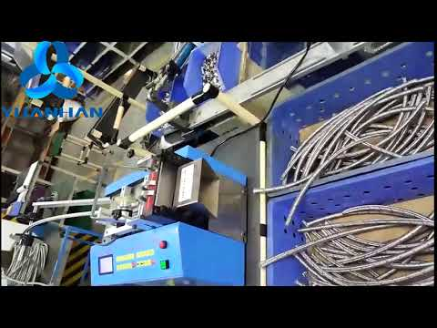 Stainless Steel Braided Mesh Tube Cutting Machine