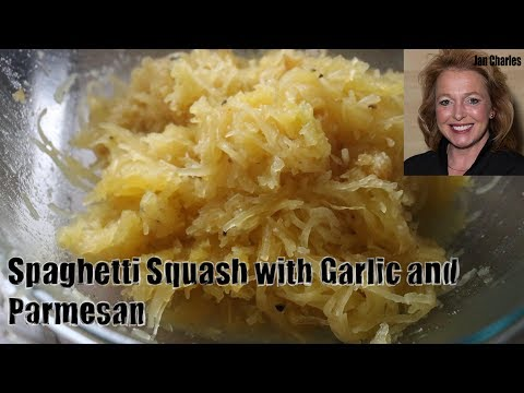 How To Make Roasted Spaghetti Squash With Garlic Butter And Parmesan