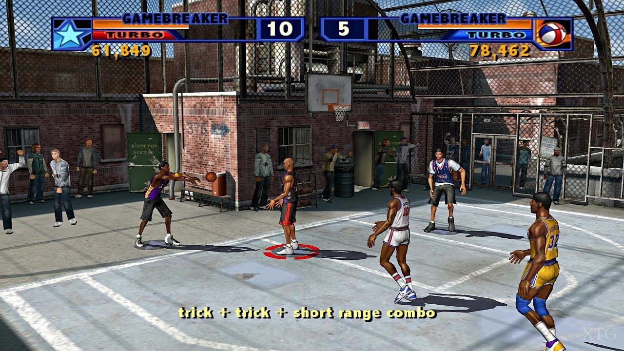 Download NBA Street Vol. 2 PS2 Gameplay HD (PCSX2)