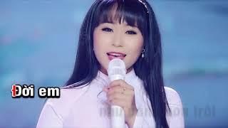 Karaoke Nước Mắt Phận Hồng Nhan - Hoàng Mai Trang