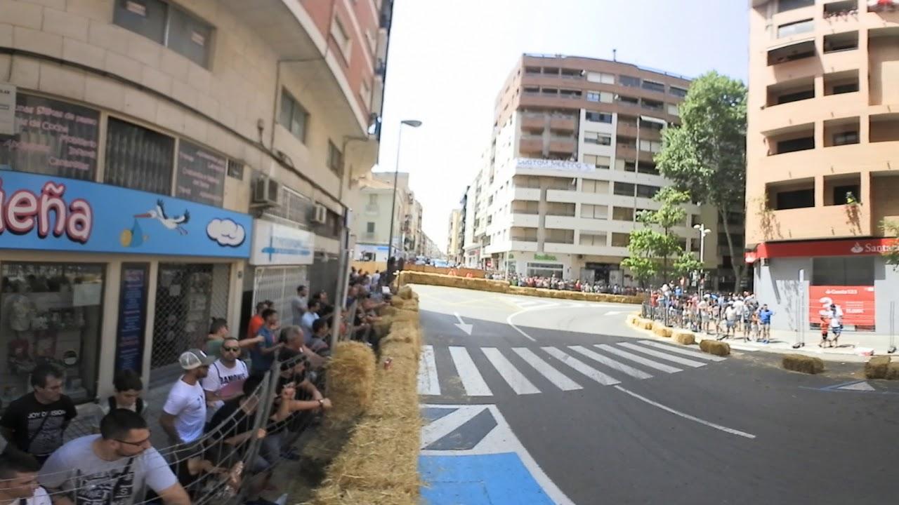 Circuito Urbano Valencia : Vídeo en º desde una curva del circuito urbano de xàtiva