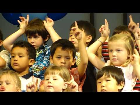 Shout to the Lord sang by 4 yr old kids :) so cuteeee!!