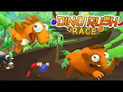 DINO RUSH RACE - Gameplay Trailer (iOS Android)