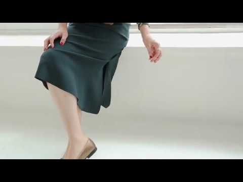 [E-RIN LABEL]리썸 윙슬릿 스커트