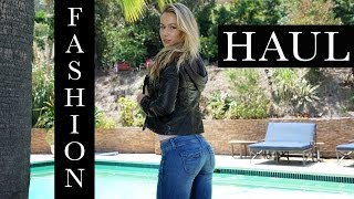 Try On Fashion Haul - Perfect Fit Jeans, Faux Leather Jackets, Popflex Bra