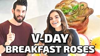 V-DAY BREAKFAST ROSES w/ Carrie Rad