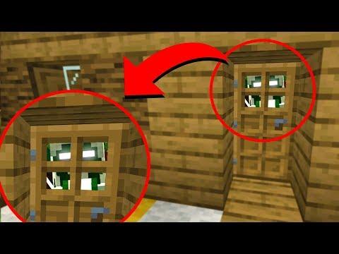 Something keeps knocking on my Minecraft house.. (SCARY)