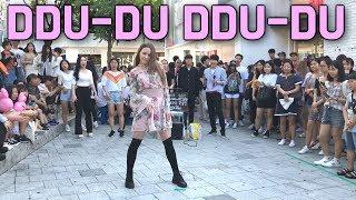 모델급 외국인의 춤실력은?BLACKPINK(블랙핑크)-뚜두뚜두(DDU-DU DDU-DU)dance cover(댄스커버)(dancer:J. Yana )