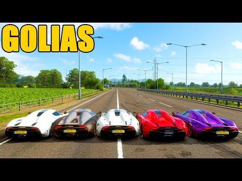 KOENIGSEGG REGERA EM GOLIAS - Forza Horizon 4 - Gameplay
