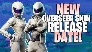 Fortnite NEW Overseer & Whiteout Skins Release Date - How To Get Overseer & Whiteout in Fortnite