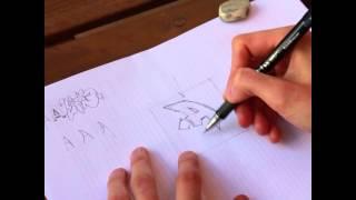 Как научиться рисовать граффити(Базовые принципы рисования классического граффити на бумаге. Хочешь узнать больше? Заходи на наш сайт!..., 2015-08-13T16:46:17.000Z)