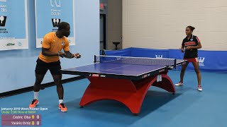Westchester Open Table Tennis: Cédric Oba vs Yasiris Ortiz
