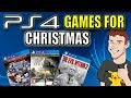 PS4 Holiday Games Buying Guide - What To Buy For Christmas