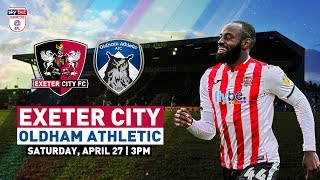 ⚽️ UP NEXT: A crucial 3️⃣ points up for grabs against Oldham | Exeter City Football Club Video
