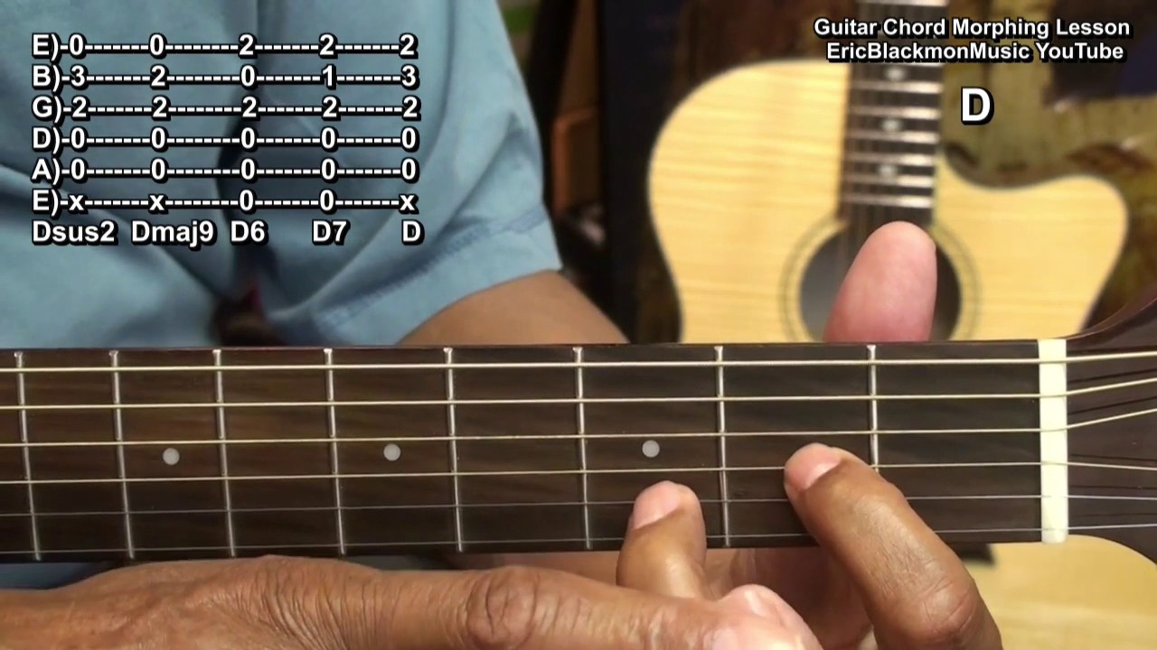 How To Grow Your Guitar Chord Library With My Easy Chord Morphing
