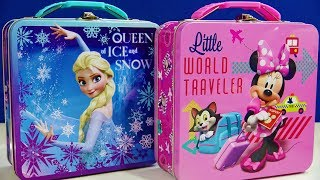 Disney Frozen Elsa Lunch Box Toys Kinder Joy Egg LOL Surprise Egg Peppa Pig My Little Pony